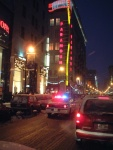 Montreal - rue Sainte Catherine - police - cinema